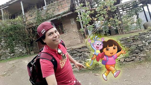 Jojojonathan le quiere hacer la competencia a Dora La Exploradora