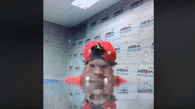 ¡Jojojonathan, no mires tu reflejo en el agua! [VIDEO]