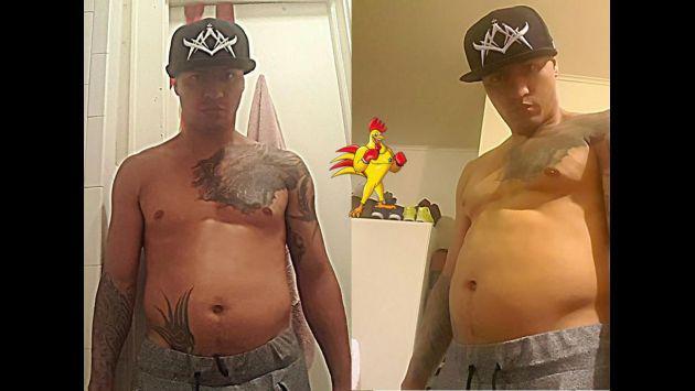 ¿Jonathan Maicelo se olvidó de los ejercicios y ahora luce gordito? Mira estas fotos