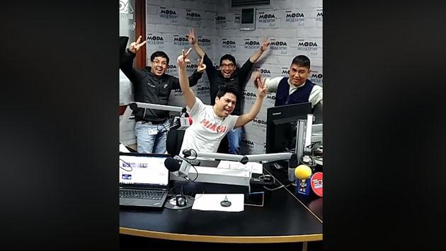 Junto a Jojojonathan, le estamos metiendo más cosas a la cabina de Radio Moda [VIDEO]