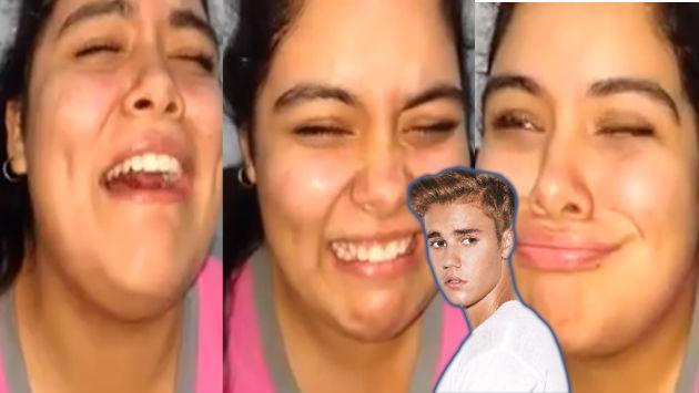 ¡Vacílate con la reacción de esta fan de Justin Bieber al escucharlo en el remix de 'Despacito'! [VIDEO]