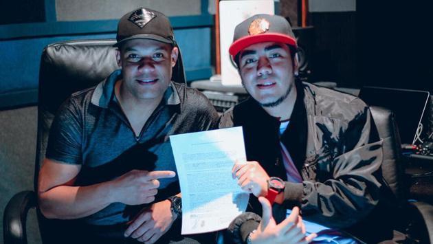 """Kalé """"La evolución"""" firmó contrato con Fantasy Records en Puerto Rico"""