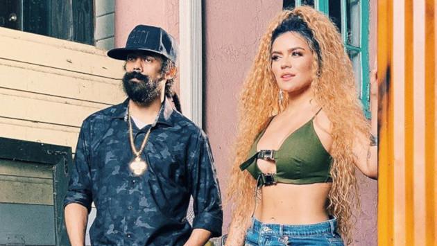 Karol G posa junto al hijo de Bob Marley