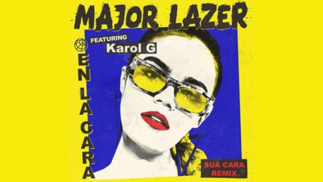 Major Lazer y Karol G juntos para el remix de 'Sua Cara'