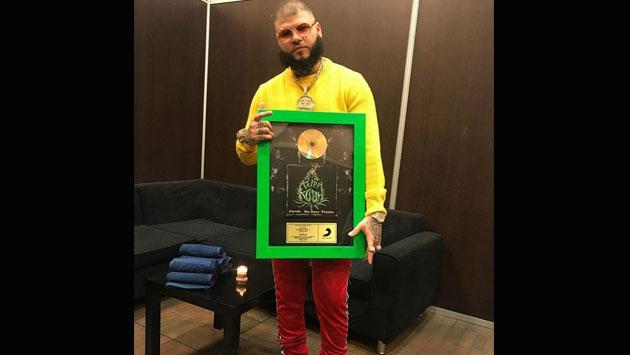'Krippy kush', de Farruko, recibe Disco de Oro en Colombia