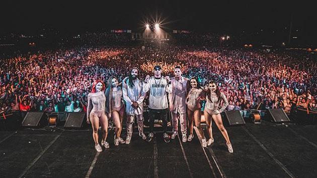 La exitosa presentación de Wisin en Perú