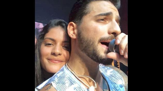La fan que besó a Maluma en concierto ahora es toda una celebridad [VIDEO]