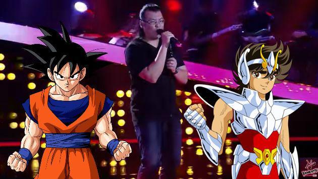 ¡Hizo casting de 'La Voz' cantando temas de 'Dragon Ball Z' y 'Caballeros del Zodiaco'!