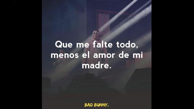 Las mejores frases de Bad Bunny en las redes sociales [FOTOS]