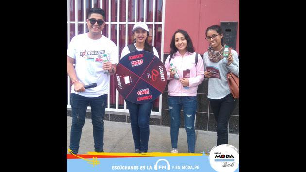 Las universidades del Perú están más pilas con Radio Moda y 360 Energy Drink [FOTOS]