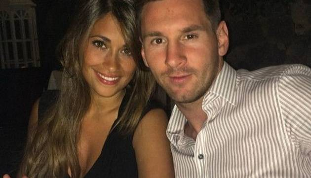 Lionel Messi y su esposa Antonella Roccuzzo publicaron sugerente foto