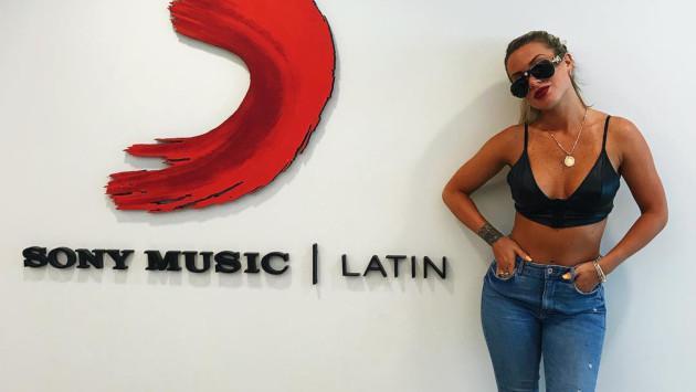 Leslie Shaw visitó las instalaciones de Sony Music en Estados Unidos