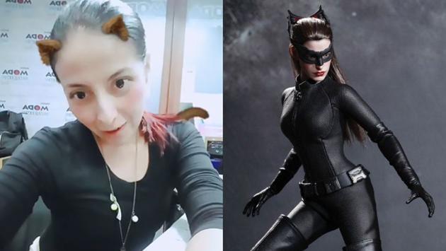 ¿Lesly Carol, la nueva Gatúbela? ¡Que se cuide Batman! [VIDEO]