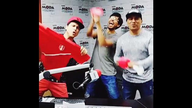 Los mejores hinchas son los peruanos y Jojojonathan celebra así [VIDEO]