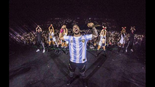 ¡Maluma olvida las críticas con espectacular gira por Argentina! [FOTOS Y VIDEOS]