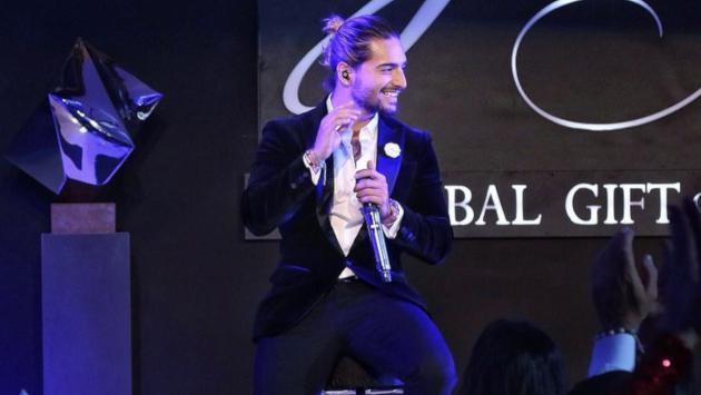 Maluma asistió junto a su hermana a la gala de Global Gift en Colombia