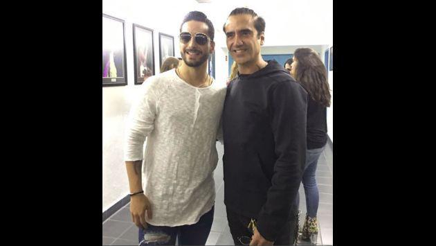 ¡Maluma pasó unos días con la hija de este reconocido cantante mexicano!