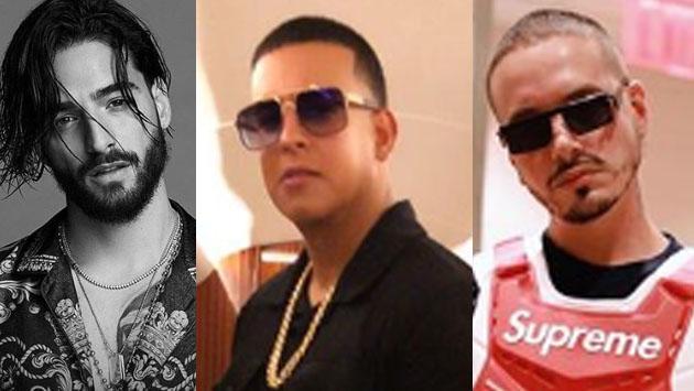 Maluma, Daddy Yankee y J Balvin, enfrentados en los MTV VMAS