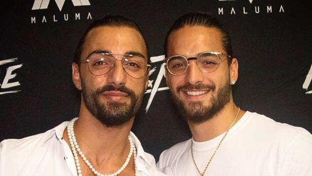 ¡Maluma encontró su doble perfecto en Italia!