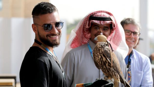 Maluma la rompe durante su presentación en Arabia Saudita