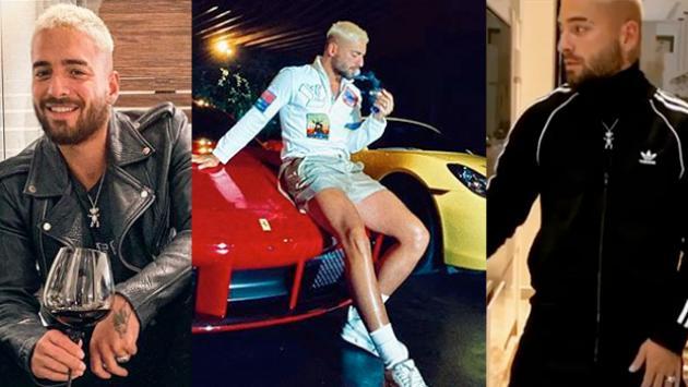 Maluma presume sus autos y hasta baila como Michael Jackson
