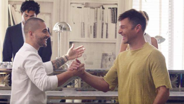Maluma aclaró nuevos rumores que lo relacionan con Ricky Martin