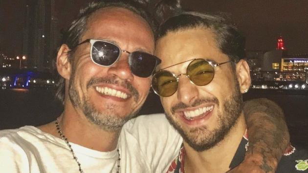 Maluma trabajará con Marc Anthony en proyecto social en Colombia