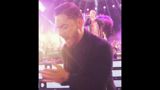 ¡Maluma bailó al ritmo de este grupo en el primer día de Viña del Mar! [VIDEO]