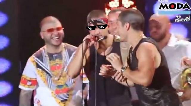 ¡Todo un 'loquillo'! Mira la troleada de Maluma a 'Chino y Nacho'