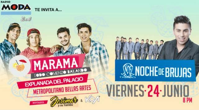 ¡Estos son los ganadores de las entradas para el concierto de MÁRAMA en Arequipa!