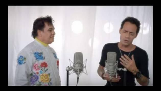 ¡Maestros! Marc Anthony Juan Gabriel grabaron tema