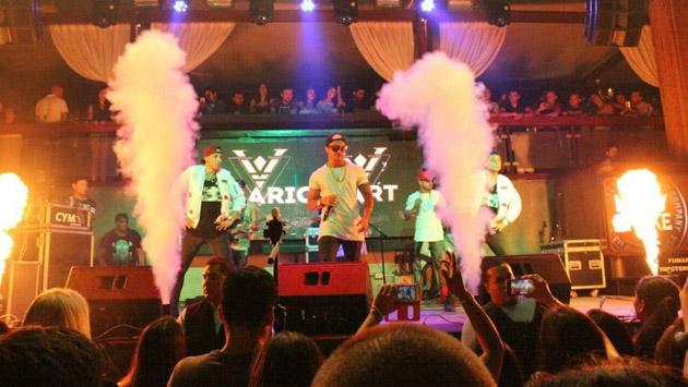 Mario Hart y su primer concierto de 2017 [FOTOS]