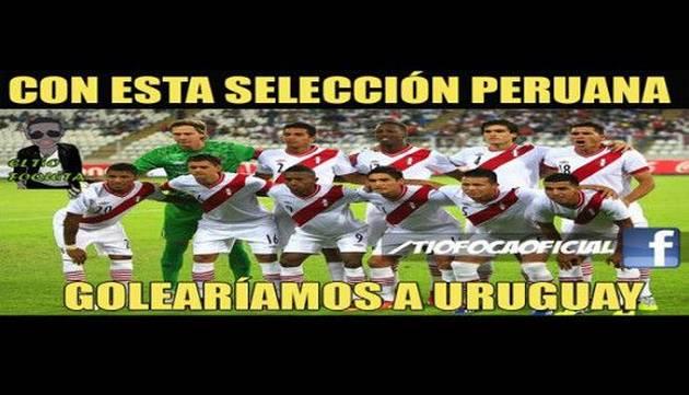 Vacílate con los memes de la previa Perú vs Uruguay