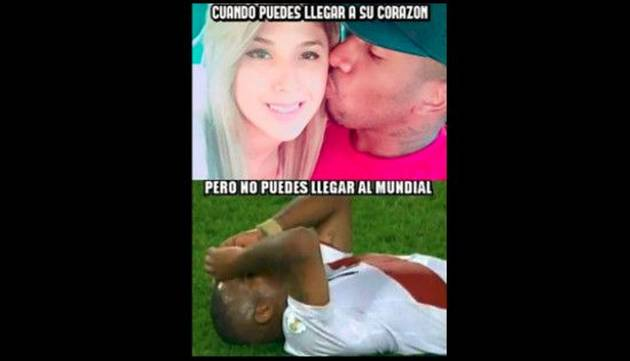 Los memes de la derrota de Perú frente a Uruguay