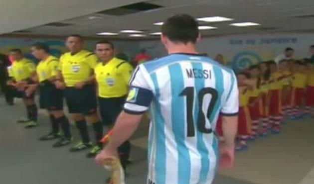 Polémico video de Messi, ¿crees que 'choteó' a este niño?