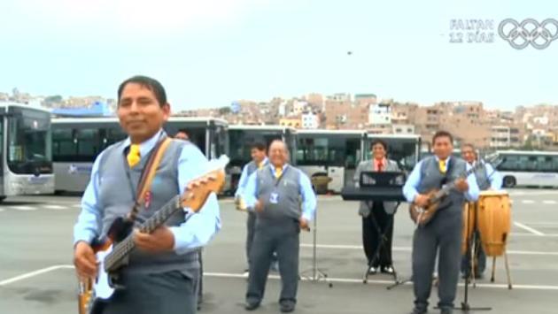 ¡Choferes del Metropolitano lanzaron su banda!