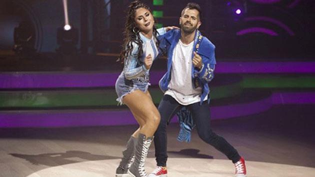 Mike Bahía y Greeicy Rendón hicieron su debut en 'Mira quién baila'
