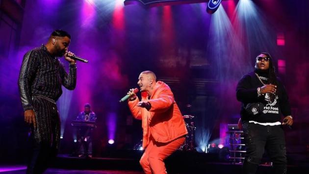 Mira la presentación de J Balvin junto a Zion & Lennox en el programa de Jimmy Kimmel