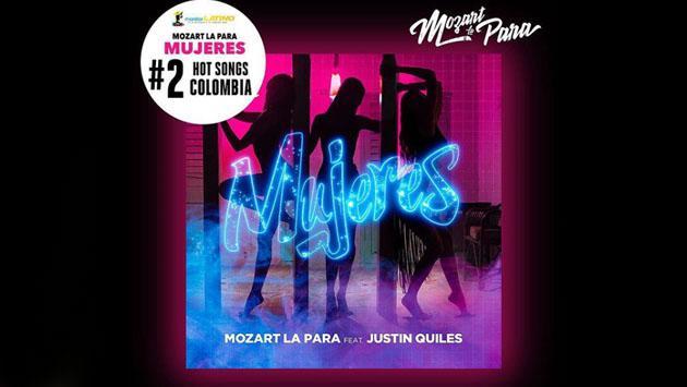 Mozart La Para festejó la segunda posición en Colombia