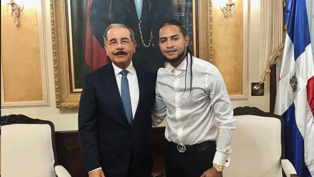 Mozart La Para tuvo reunión con el presidente de República Dominicana