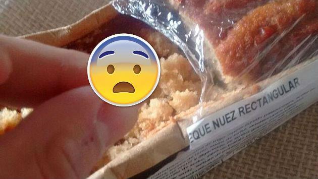 ¡Compró un queque en el supermercado sin saber que encontraría una...!