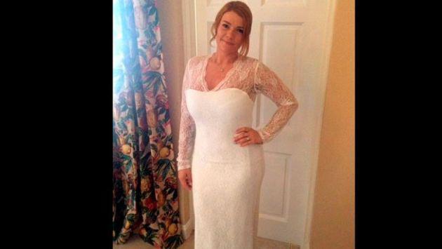 ¡El increíble cambio físico al que se sometió esta mujer motivada por su vestido de novia!