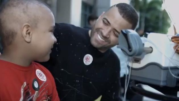 Nacho formó parte de una campaña contra el cáncer en Estados Unidos [VIDEO]