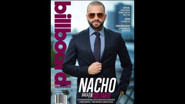 ¡Nacho Mendoza brilla en la portada de la revista Billboard Venezuela! [FOTOS]