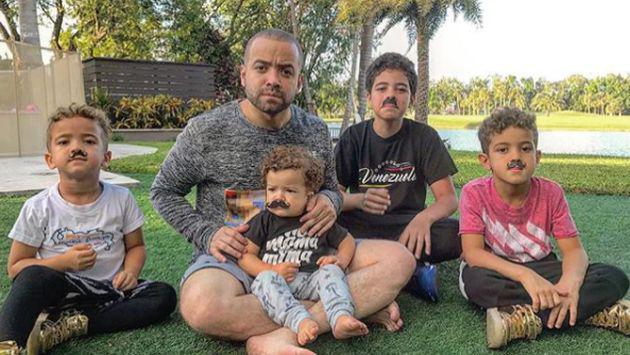 ¡Nacho se reencontró con sus hijos luego de 60 días!
