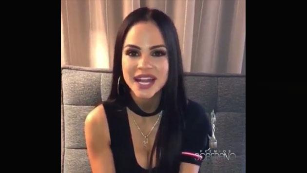 Natti Natasha confirmó su participación en Premio Soberano y anunció próximos conciertos [VIDEO]