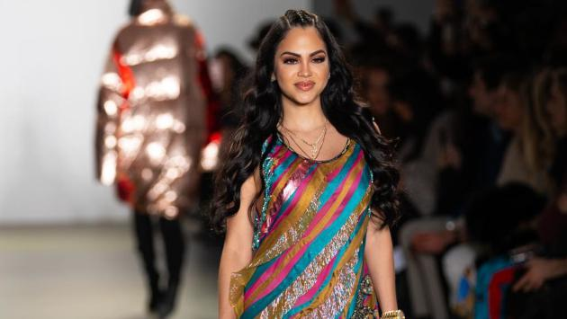 Natti Natasha desfiló en el New York Fashion Week