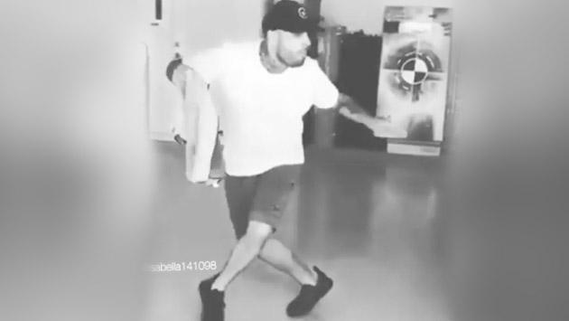 El curioso video de Nicky Jam bailando 'Machika' de J Balvin