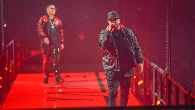 Nicky Jam, Daddy Yankee y J Balvin en el soundtrack de la película 'Bad boys for life'