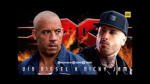 Nicky Jam reveló qué consejo le dio Vin Diesel para actuar en 'XXX: Return of Xander Cage'
